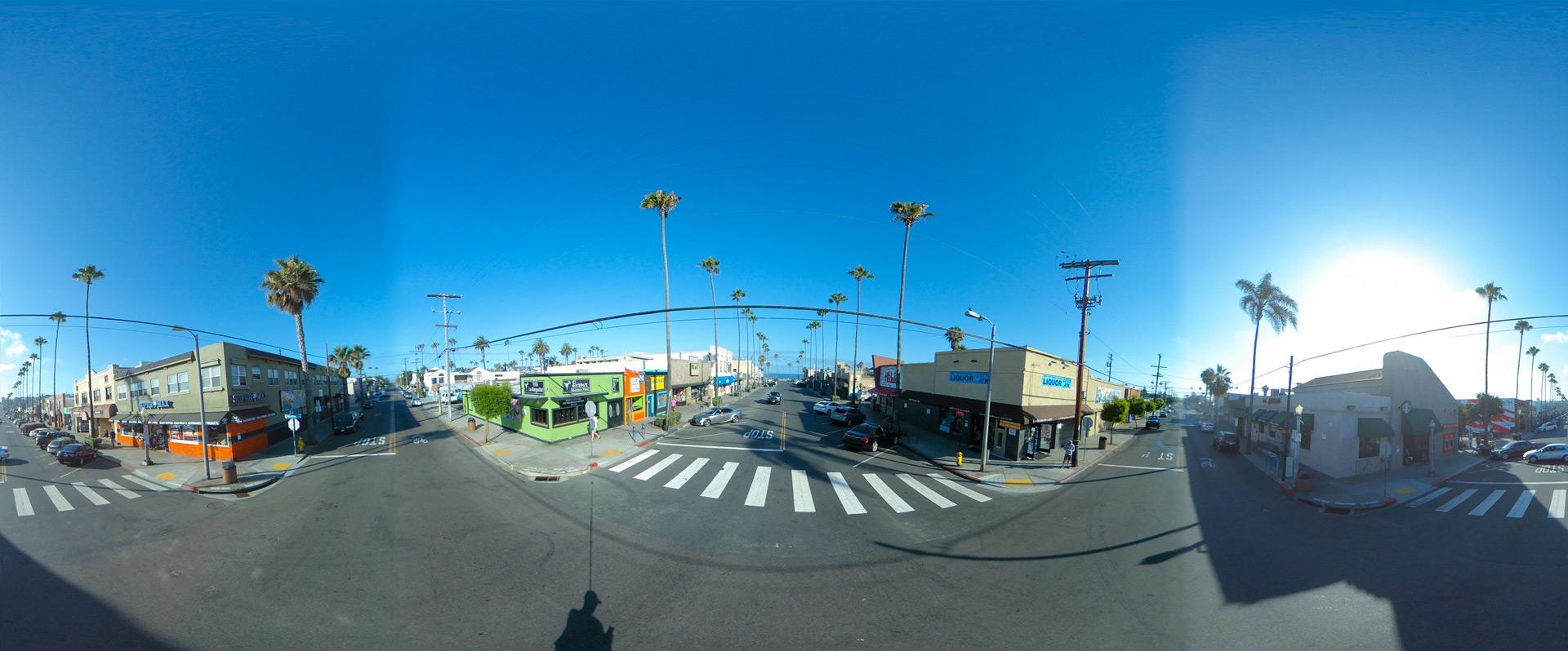 Ocean Beach, San Diego - Newport and Bacon