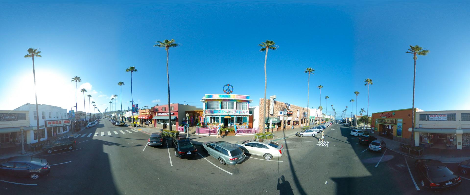 Ocean Beach, San Diego - Youth Hostel
