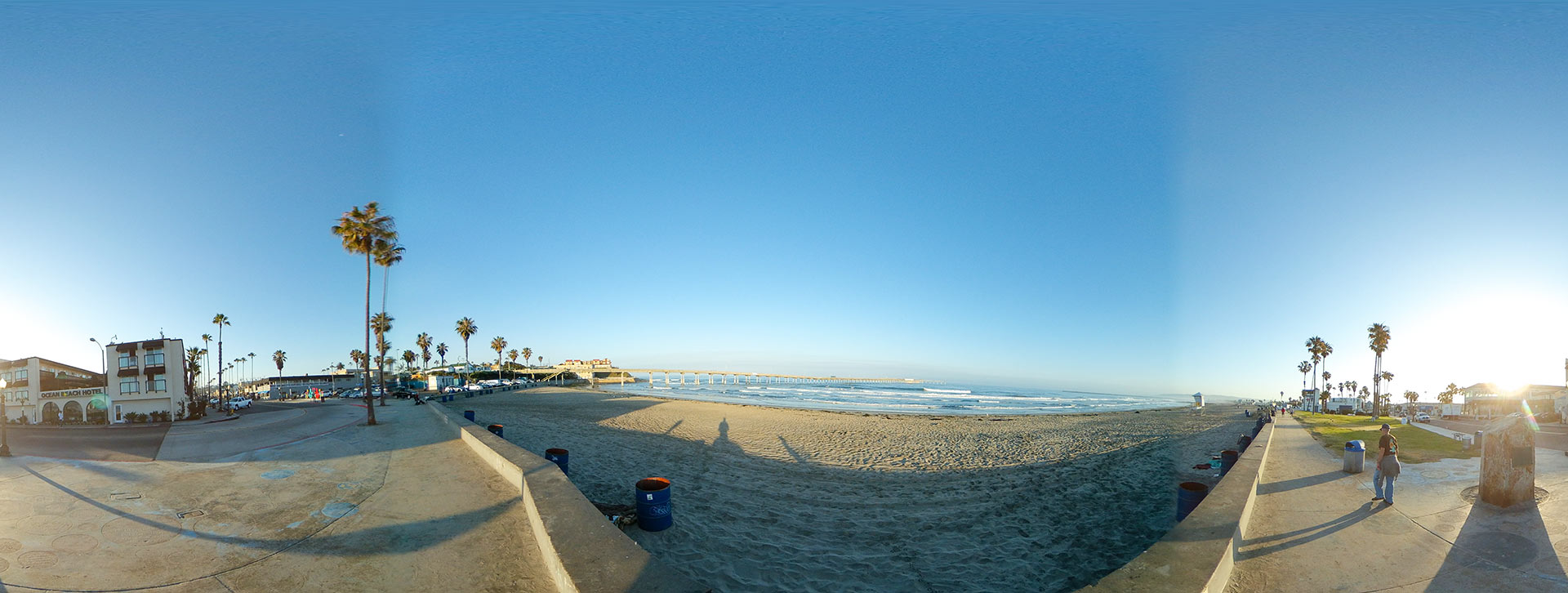 Ocean Beach, San Diego - Veteran's Plaza