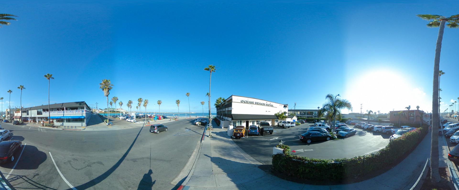 Ocean Beach, San Diego - Ocean Beach Hotel